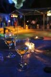 Glas van drank in partij royalty-vrije stock fotografie