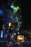 Glas van drank in partij Royalty-vrije Stock Foto