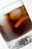 Glas van koladrank Stock Afbeeldingen