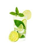 Glas van limonade Royalty-vrije Stock Afbeeldingen