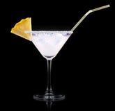 glas van Pina Colada Cocktail Stock Afbeeldingen