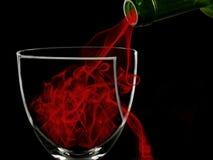 Glas van Rook Stock Afbeeldingen