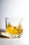 Glas van Sterke drank Royalty-vrije Stock Afbeeldingen