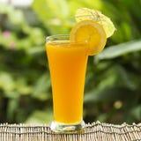 Glas van van jus d'orange Royalty-vrije Stock Foto