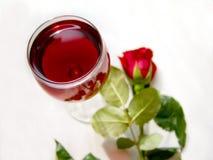 Glas van wijnstok Royalty-vrije Stock Foto's