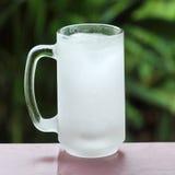 Glas vom Frostraum Lizenzfreies Stockbild