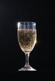 Glas von Champagne Stockbild