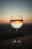 Glas von Sun Stockbilder