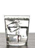 Glas oder Wasser Stockfoto