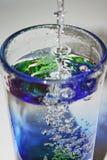 Glas Wasser Lizenzfreies Stockbild