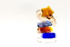 Glas Wasser Stockfoto