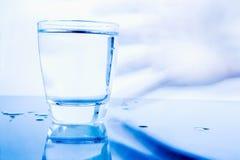 Glas Water Stock Foto's
