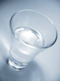Glas of water. Drinking Stock Images