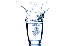 Glas Water Stock Afbeelding