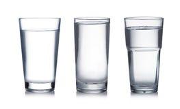 Glas Water Royalty-vrije Stock Afbeeldingen
