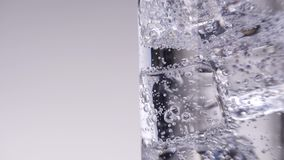 Glas Water stock footage