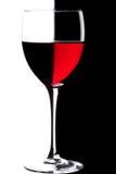 Glas Wein Lizenzfreie Stockbilder