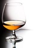 Glas Weinbrand Lizenzfreies Stockfoto
