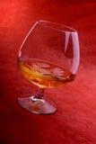 Glas Weinbrand  Stockbild