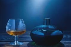 Glas Weinbrand Lizenzfreie Stockfotografie