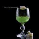 Glas Wermut lizenzfreies stockbild
