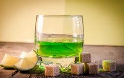 Glas Wermut stockfotografie