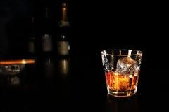 Glas whisky Royalty-vrije Stock Afbeelding