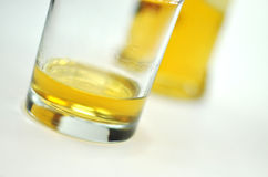 Glas of whisky Stock Image