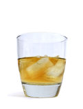 Glas Whisky lizenzfreie stockfotos