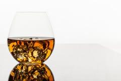 Glas Whisky Stock Afbeelding