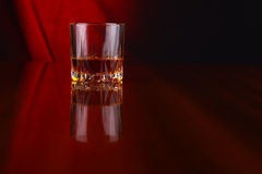 Glas whisky Royalty-vrije Stock Foto