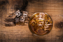 Glas whisky Stock Afbeeldingen