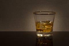 Glas Whisky stockfotos