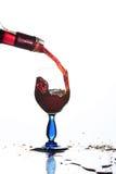 Glas wijn бР¾ каГ Ð ² иР½ а Stock Foto's