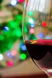 Glas wijn 001 Stock Foto's
