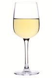 Glas wijn Royalty-vrije Stock Fotografie
