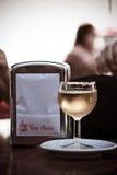 Glas Wijn Royalty-vrije Stock Foto's