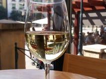 Glas Wijn Stock Foto's