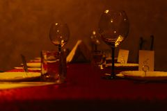 Glas Wijn stock foto