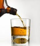 Glas wisky Stock Foto