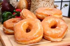 glasade donuts Fotografering för Bildbyråer