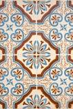 glasade portugisiska tegelplattor Royaltyfri Fotografi
