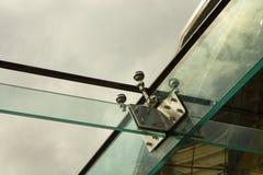 Glasaufbau Stockbild