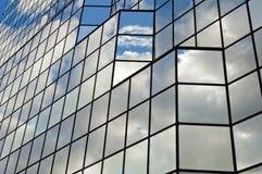 Glasbürohaus. Stockbilder