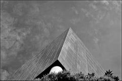 Glasbüros in Schwarzweiss lizenzfreie stockfotografie