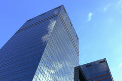 Glasbürotürme Stockfoto