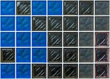 Glasbausteinhintergrund, Tapete, Beschaffenheit stock abbildung