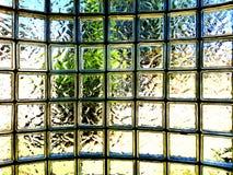 Glasbausteinwand Stockfotografie