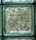 Glasbausteinwandfliese Lizenzfreies Stockfoto