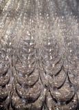 Glasbecher-Hintergrund Lizenzfreies Stockfoto